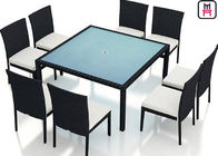 Outdoor Patio Furniture High Top Table , Commercial Grade Outdoor Dining Furniture Table