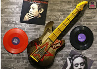 Retro Metal Guitar Music Related Wall Decor, Decorative Musical Instruments Wall Decor