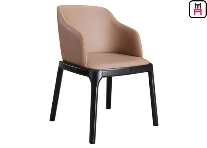 Grace Arm Chair Padded Wood Restaurant Chairs Modern Furniture With Round Safe Corner