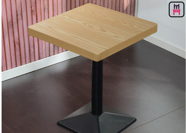 4cm Thickness Melamine - Faced Chipboard Dining Table with Safe Round Corner